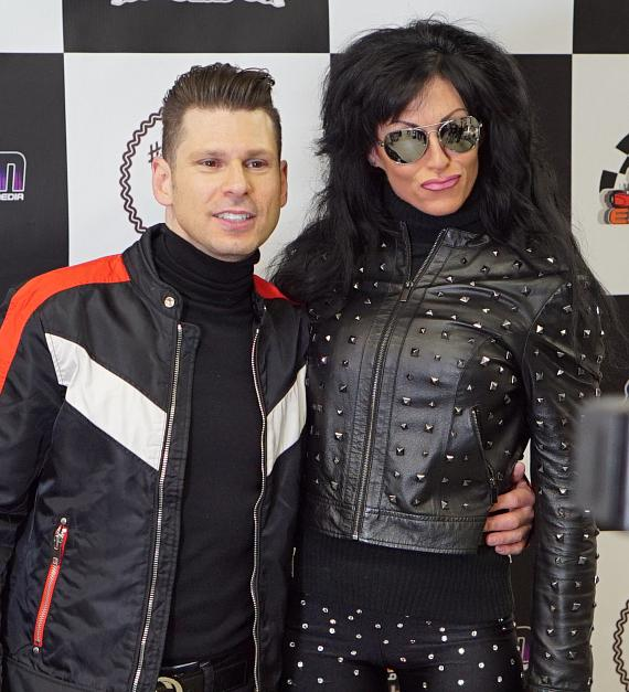 "Comedian Mike Hammer and Friends Raise Money for Charity at ""Mike Hammer Celebrity Go-Kart Race"" at Gene Woods Racing Experience"