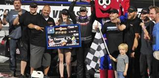 Doss Wins $10,000 on Military and Veterans Appreciation Night at Las Vegas Motor Speedway