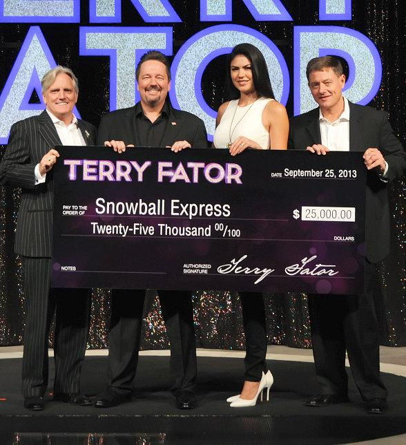 Act of Kindness from Terry Fator Show at The Mirage in Las Vegas