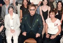 "Billy Elliott London Supporters attend Elton John's ""The Million Dollar Piano"" at The Colosseum at Caesars Palace"