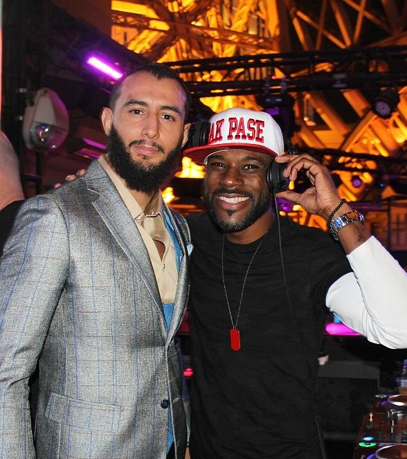 UFC Champion Dominick Reyes Celebrates Victory at Chateau Nightclub & Rooftop in Las Vegas