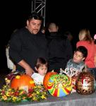 Local businesses downtown including the Attic, Globe Salon and others painted pumpkins as part of an art display