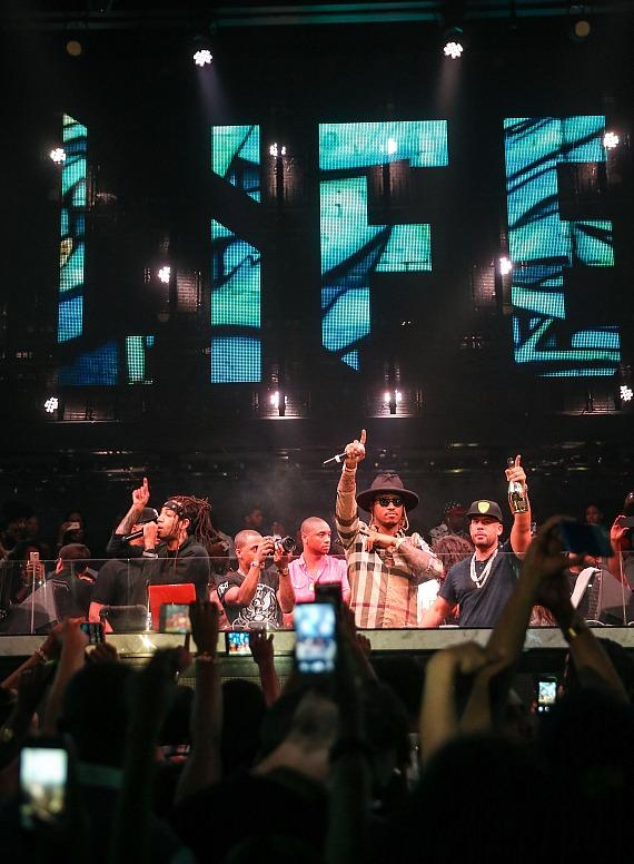 The Stafford Brothers, Jeremih, Future and Drama Close Out Fight Weekend at SLS Las Vegas