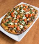 Goat Cheese and Tomato Flatbread