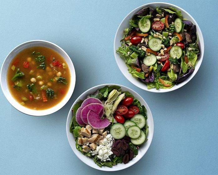 Nourishing meals from Cafe Zupas