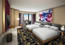 First Look: Resorts World Las Vegas Previews Design for Hilton and Conrad Guestrooms