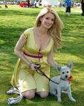 """Holly Madison and """"Leroy"""" at the Forever Home Picnic to Benefit the Lied Animal Foundation"""