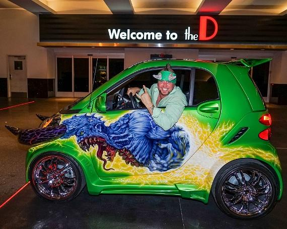 """Stars of History Channel's """"Counting Cars"""" Celebrate Premiere at the D Las Vegas"""