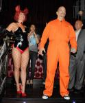 "Ice-T and Coco Host Halloween ""Player's Ball"" at LAX Nightclub in Las Vegas"