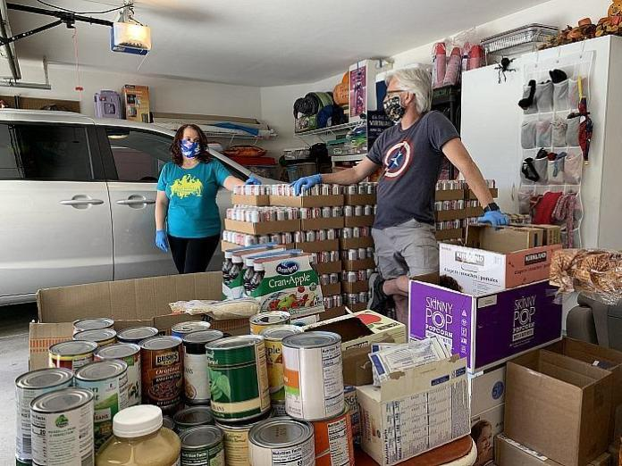 Allegiant Travel Company Donates Food and Drinks to Vegas Community Food Pantry