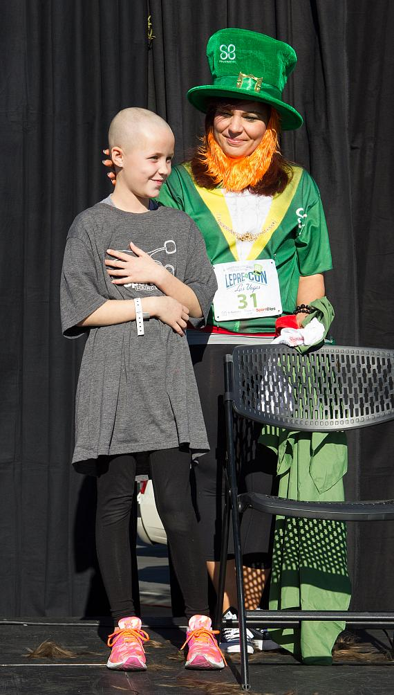 St. Baldrick's Foundation Breaks World Record for Largest Gathering of Leprechauns; 1,400 People Participate in Lepre-Con to Raise Money for Childhood Cancer Research