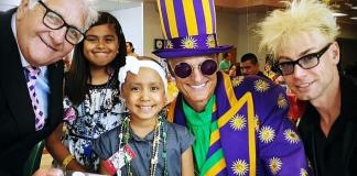 MURRAY The Magician drops by Three Charities in One Day to Show his Support