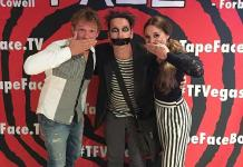 America's Got Talent Finalists The Clairvoyants Visit Their Season 11 Co-Star Tape Face for a Reunion at His Showroom in Las Vegas