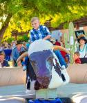 Mechanical Bull at  Opportunity Village Backyard BBQ Bash