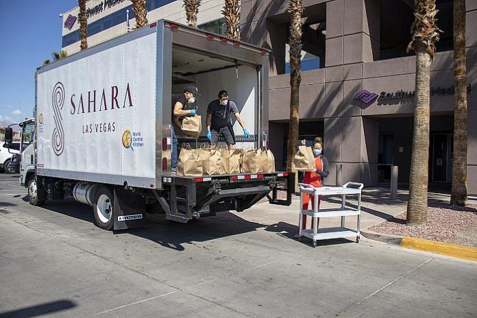 Sahara Las Vegas Teams up With World Central Kitchen to Provide Meals to Healthcare Workers Across the Las Vegas Valley