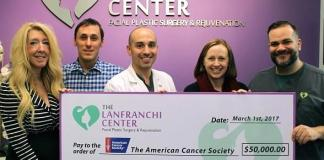 """The Lanfranchi Center Donates $50,000 to Launch the """"TLC Lift For Life"""" Program to Provide Taxi Transportation for Cancer Patients"""
