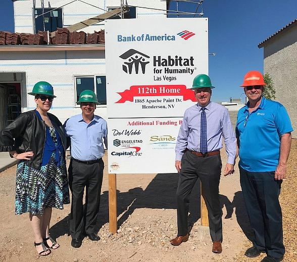 Habitat for Humanity Las Vegas and Bank of American Build Homes for Local Single Mothers