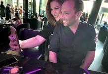 Real Housewives of Orange County Star Emily Simpson Celebrates Husband Shane's Birthday in Las Vegas
