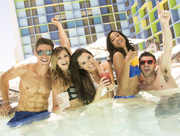 Influence, the Pool at The LINQ Hotel + Experience Ushers in the 2019 Pool Season With All-New Amenities