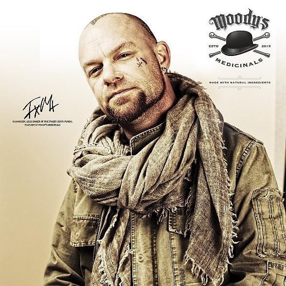 The Grove to Host Meet-and-Greet with Ivan Moody, Lead Singer of Five Finger Death Punch, in Celebration of New 'Moody's Medicinals' CBD Products