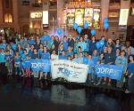 JDRF youth ambassadors and families