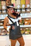 """Jennifer """"JWoww"""" Farley indulges in a signature Sugar Factory Couture Pop at the flagship retail store at Paris Las Vegas"""