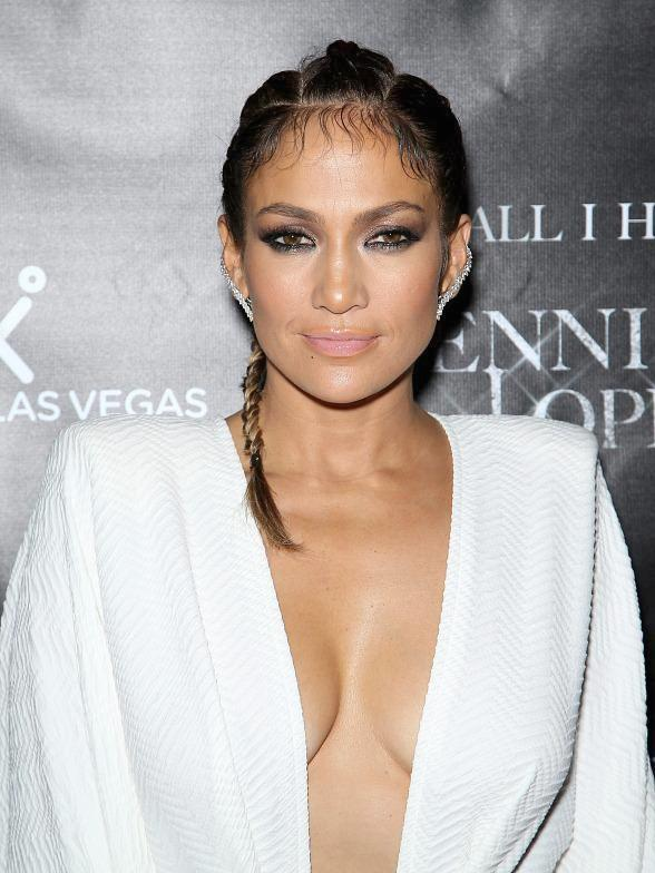 Jennifer Lopez Hosts Residency Launch Party at Chateau Nightclub & Rooftop at Paris Las Vegas