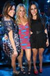Jessica Lowndes and friends at Vanity