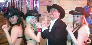 Country Music Superstar John Rich Visits Gilley's Saloon, Dance Hall & Bar-B-Que in Las Vegas