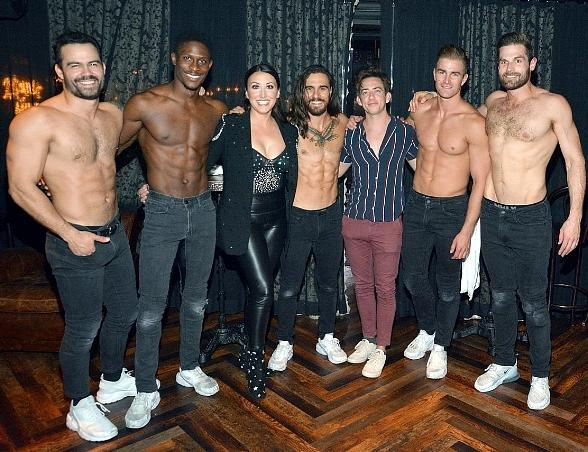 """""""Glee"""" Star Kevin McHale Attends """"Magic Mike Live"""" at Hard Rock Hotel & Casino in Las Vegas"""