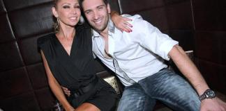 Kym Johnson and Dmitry Chaplin of Dancing with the Stars