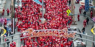 "Opportunity Village's ""Las Vegas Great Santa Run"" to Bring Thousands of Santas to Downtown Las Vegas on Dec. 3"