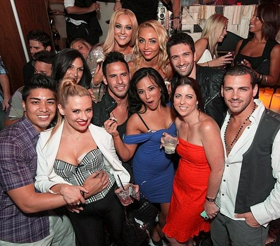 Lacy Schwimmer Celebrates 24th Birthday at Hyde Bellagio, Las Vegas