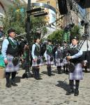 Las Vegas Pipe Band performs during the opening ceremony of 2016 Celtic Feis