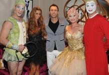 "Bravo's Real Housewife of Orange County Lydia Celebrate's Hubby's Birthday at ""O"" by Cirque du Soleil"