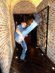 MMA Actor Cung Le at Andiamo Italian Steakhouse at the D Casino Hotel Las Vegas