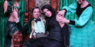 Marie Avgeropoulos Attends ABSINTHE at Caesars Palace