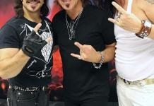 REO Speedwagon's Dave Amato Attends Rock of Ages at The Venetian Las Vegas