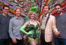 """Vegas Golden Knights and """"Dancing With The Stars"""" Standouts Attend ABSINTHE at Caesars Palace Las Vegas"""