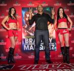 Mike Tyson with Tecate Girls at Cabo Wabo Cantina