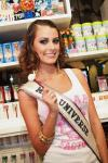Miss Universe Stefania Fernandez debuts Miss Universe edition Couture Pop at Sugar Factory