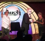 Comedy Magician MURRAY Performs the Vanishing Watch Illusion at Laugh Factory in Tropicana Las Vegas