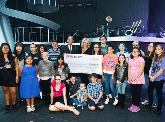 Planet Hollywood Resort & Casino Headliner Britney Spears Donates $120,000 to Nevada Childhood Cancer Foundation