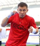 """Gennady """"GGG"""" Golovkin at Los Angeles Media Workout"""