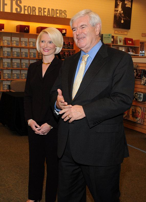 Newt Gingrich book signing at Barnes & Noble in Las Vegas