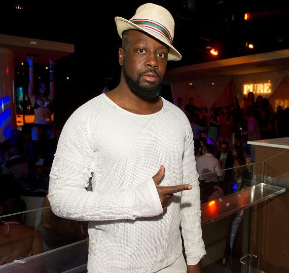 Wyclef Jean performs at PURE Nightclub Anniversary