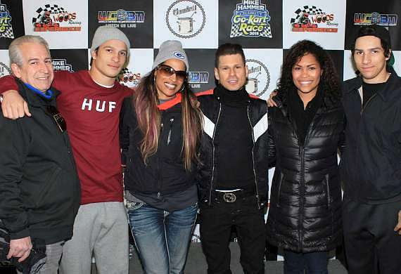 """Comedian Mike Hammer and Friends Raise Money for Charity at """"Mike Hammer Celebrity Go-Kart Race"""" at Gene Woods Racing Experience"""