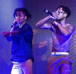Rae Sremmurd performs at Worship Thursday at TAO