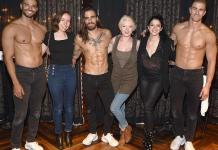 "Ruby Lewis Attends ""Magic Mike Live"" at Hard Rock Hotel & Casino Las Vegas"