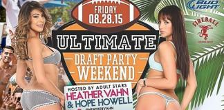 Sapphire Dayclub to host Ultimate Draft Party Weekend with Heather Vahn and Hope Howell August 28